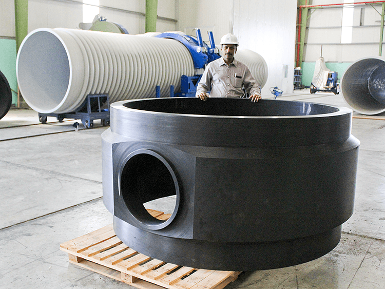 HDPE & PP Fitting Fabrication